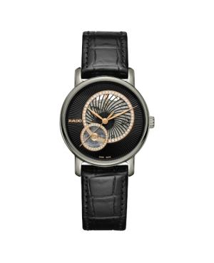 Szwajcarski elegancki zegarek damski RADO DiaMaster Automatic Open Heart Diamonds R14056955