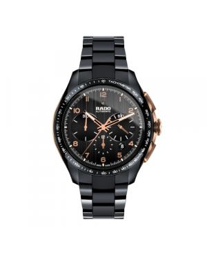 Szwajcarski sportowy zegarek męski RADO HyperChrome Automatic Chronograph R32111162