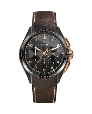Szwajcarski sportowy zegarek męski RADO HyperChrome Automatic Chronograph R32168155