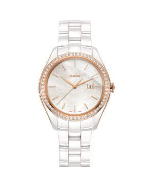 Szwajcarski biżuteryjny zegarek damski RADO HyperChrome Diamonds R32126902