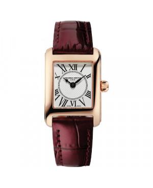 Szwajcarski elegancki zegarek damski FREDERIQUE CONSTANT Classics Carrée FC-200MC14 (FC200MC14)