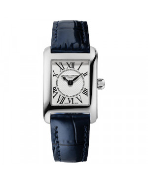 Szwajcarski elegancki zegarek damski FREDERIQUE CONSTANT Classics Carrée FC-200MC16 (FC200MC16)
