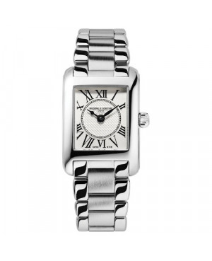 Szwajcarski elegancki zegarek damski FREDERIQUE CONSTANT Classics Carrée FC-200MC16B (FC200MC16B)