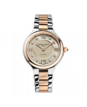 Szwajcarski elegancki zegarek damski FREDERIQUE CONSTANT CLASSICS DELIGHT AUTOMATIC FC-306LGHD3ER2B (FC306LGHD3ER2B)