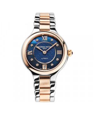 Szwajcarski elegancki zegarek damski FREDERIQUE CONSTANT CLASSICS DELIGHT AUTOMATIC FC-306NHD3ER2B (FC306NHD3ER2B)