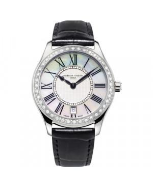 Szwajcarski klasyczny zegarek damski FREDERIQUE CONSTANT CLASSICS LADIESFC-220MPW3BD26 (FC220MPW3BD26)