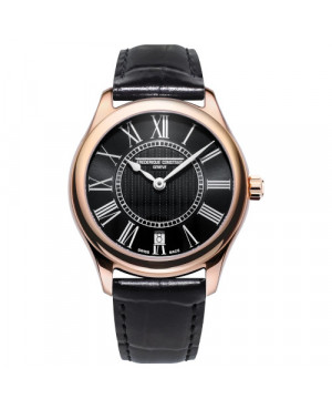 Szwajcarski elegancki zegarek damski FREDERIQUE CONSTANT CLASSICS LADIES FC-220MB3B4 (FC220MB3B4)