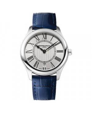Szwajcarski klasyczny zegarek damski FREDERIQUE CONSTANT CLASSICS LADIES FC-220MS3B6 (FC220MS3B6)