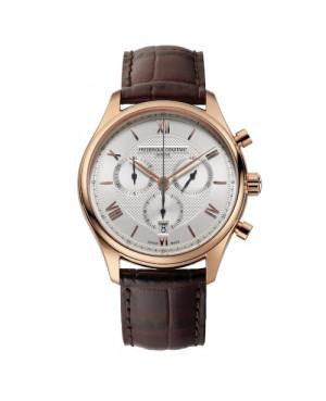 Szwajcarski elegancki zegarek męski FREDERIQUE CONSTANT Classics Quartz Chronograph FC-292MV5B4 (FC292MV5B4)