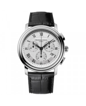 Szwajcarski elegancki zegarek męski FREDERIQUE CONSTANT Classics Quartz Chronograph FC-292MC4P6 (FC292MC4P6)