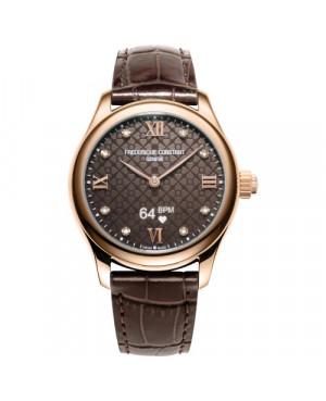 Szwajcarski smartwatch damski FREDERIQUE CONSTANT LADIES VITALITY FC-286CD3B4 (FC286CD3B4)