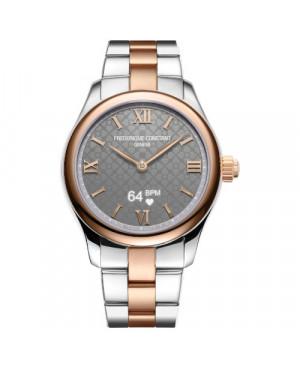 Szwajcarski smartwatch damski FREDERIQUE CONSTANT LADIES VITALITY FC-286BG3B2B (FC286BG3B2B)