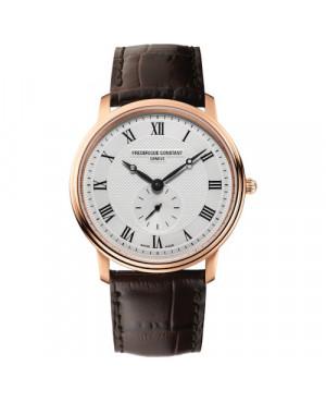 Szwajcarski elegancki zegarek męski FREDERIQUE CONSTANT Classics Gents Small Seconds FC-235M4S4 (FC235M4S4)