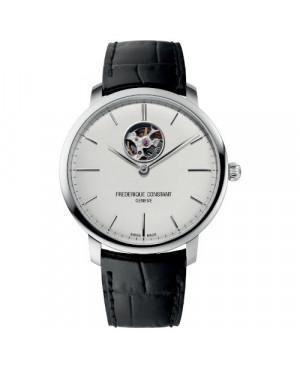 Szwajcarski klasyczny zegarek męski FREDERIQUE CONSTANT Slimline Heart Beat Automatic FC-312S4S6 (FC312S4S6)
