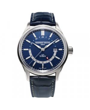 Szwajcarski klasyczny zegarek męski FREDERIQUE CONSTANT YACHT TIMER GMT FC-350NT4H6 (FC350NT4H6)