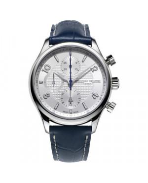 Szwajcarski elegancki zegarek męski FREDERIQUE CONSTANT RUNABOUT RHS CHRONOGRAPH AUTOMATIC FC-392RMS5B6 (FC392RMS5B6)