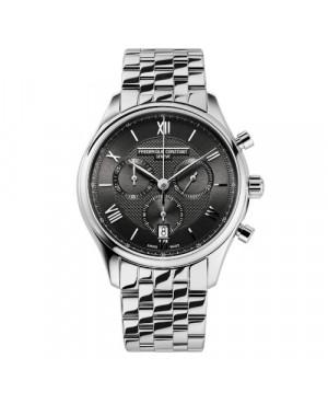 Szwajcarski elegancki zegarek męski FREDERIQUE CONSTANT Classics Chronograph FC-292MG5B6B (FC292MG5B6B)