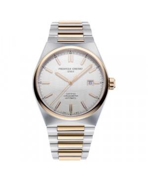 Szwajcarski elegancki zegarek męski FREDERIQUE CONSTANT Highlife Automatic COSC FC-303V4NH2B (FC303V4NH2B)