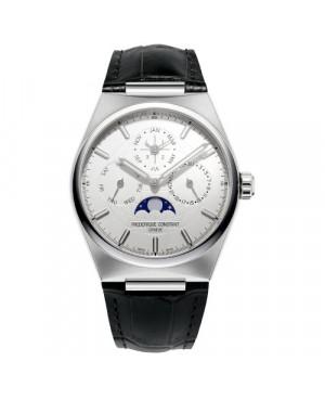 Szwajcarski elegancki zegarek męski FREDERIQUE CONSTANT Highlife Perpetual Calendar Manufacture FC-775S4NH6 (FC775S4NH6)