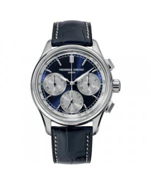 Szwajcarski sportowy zegarek męski FREDERIQUE CONSTANT Manufacture Flyback Chronograph FC-760NS4H6 (FC760NS4H6)