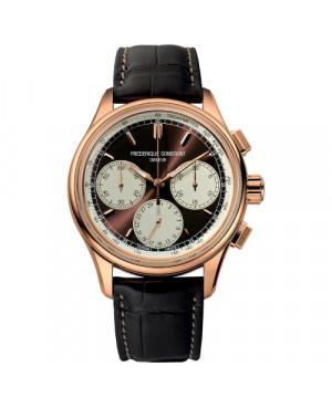 Szwajcarski sportowy zegarek męski FREDERIQUE CONSTANT Manufacture Flyback Chronograph FC-760CHC4H4 (FC760CHC4H4)