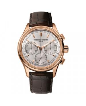 Szwajcarski sportowy zegarek męski FREDERIQUE CONSTANT Manufacture Flyback Chronograph FC-760V4H4 (FC760V4H4)
