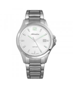 Szwajcarski klasyczny zegarek męski ADRIATICA A1264.5153Q (A12645153Q)
