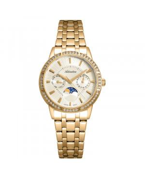 Szwajcarski biżuteryjny zegarek damski ADRIATICA A3601.1111QFZ (A36011111QFZ)
