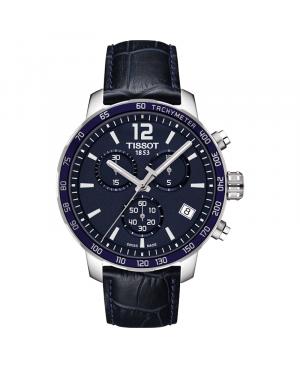 Szwajcarski sportowy zegarek męski TISSOT Quickster Chronograph T095.417.16.047.00 (T0954171604700)