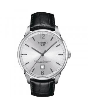 Szwajcarski klasyczny zegarek męski TISSOT Chemin Des Tourelles Powermatic 80 T099.407.16.037.00  (T0994071603700)