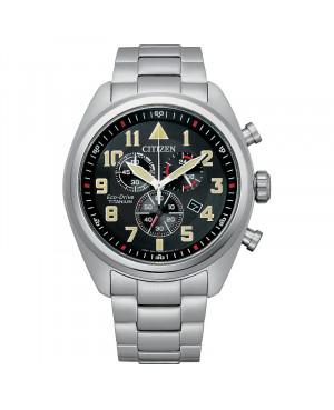 Sportowy zegarek męski CITIZEN Military AT2480-81E (AT248081E)