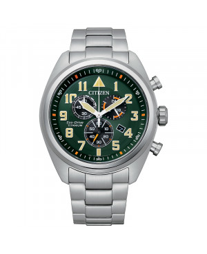 Sportowy zegarek męski CITIZEN Military AT2480-81X (AT248081X)