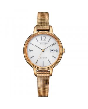 Modowy zegarek damski CITIZEN Elegance EW2447-89A (EW244789A)