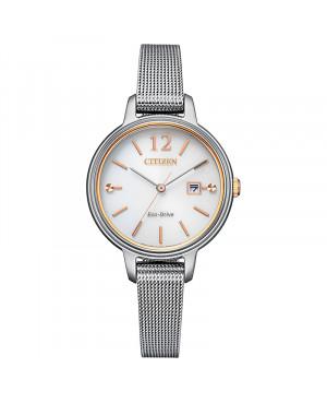Modowy zegarek damski CITIZEN Elegance EW2449-83A (EW244983A)