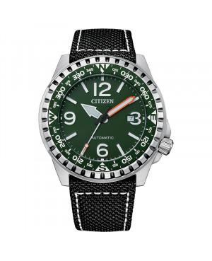 Sportowy zegarek męski CITIZEN Mechanical NJ2198-16X (NJ219816X)