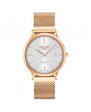 Szwajcarski klasyczny zegarek damski ROAMER 979809 49 15 90 Vanguard Slim Line (979809491590)