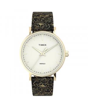 Klasyczny zegarek damski TIMEX Fairfield Floral TW2U40700