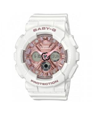 Sportowy zegarek damski CASIO BA-130-7A1ER Baby-G (BA1307A1ER)