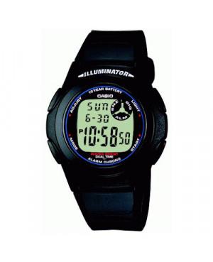 Sportowy zegarek męski CASIO F-200W-1AEF (F200W1AEF)