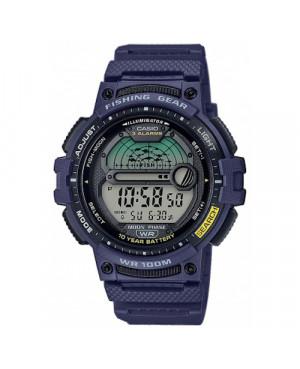 Sportowy zegarek męski CASIO Sport WS-1200H-2AVEF (WS1200H2AVEF)