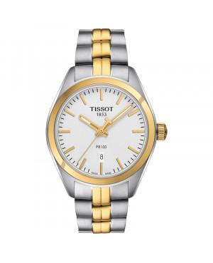 Szwajcarski klasyczny zegarek damski TISSOT PR 100 T101.210.22.031.00 (T1012102203100)