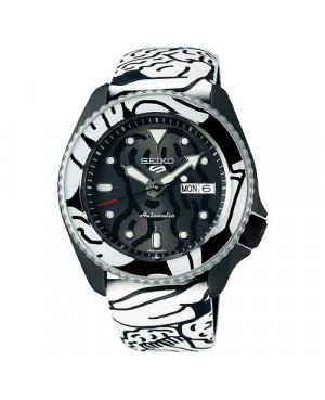 Sportowy zegarek męski SEIKO 5 Sports Auto Moai Limited Edition SRPG43K1