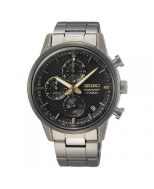 Sportowy zegarek męski SEIKO Chronograph Titanium SSB391P1