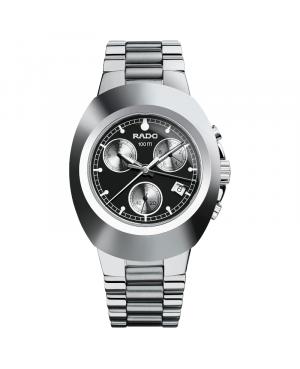 Szwajcarski sportowy zegarek męski RADO New Original Chronograph R12638163