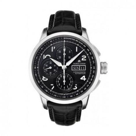 Szwajcarski sportowy zegarek męski MAURICE LACROIX Masterpiece MP6348-SS001-32E (MP6348SS00132E)