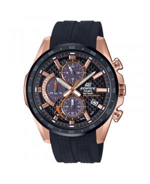 Sportowy zegarek męski CASIO EDIFICE EQS-900PB-1AVUEF (EQS900PB1AVUEF)