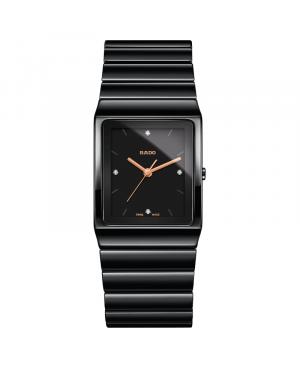 Szwajcarski elegancki zegarek RADO Ceramica Diamonds R21700722
