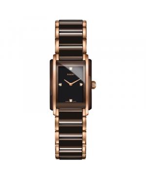 Szwajcarski elegancki zegarek damski RADO Integral Diamonds R20201712