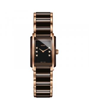 Szwajcarski elegancki zegarek damski RADO Integral Diamonds R20199722