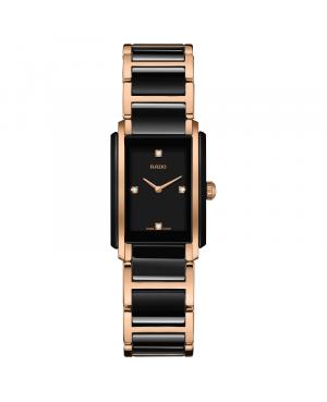 Szwajcarski elegancki zegarek damski RADO Integral Diamonds R20612712